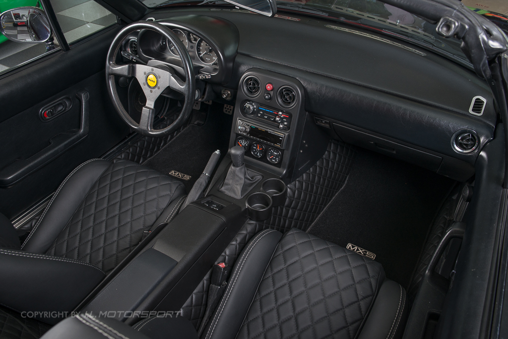Mx 5 Quilted Interior Trim Set