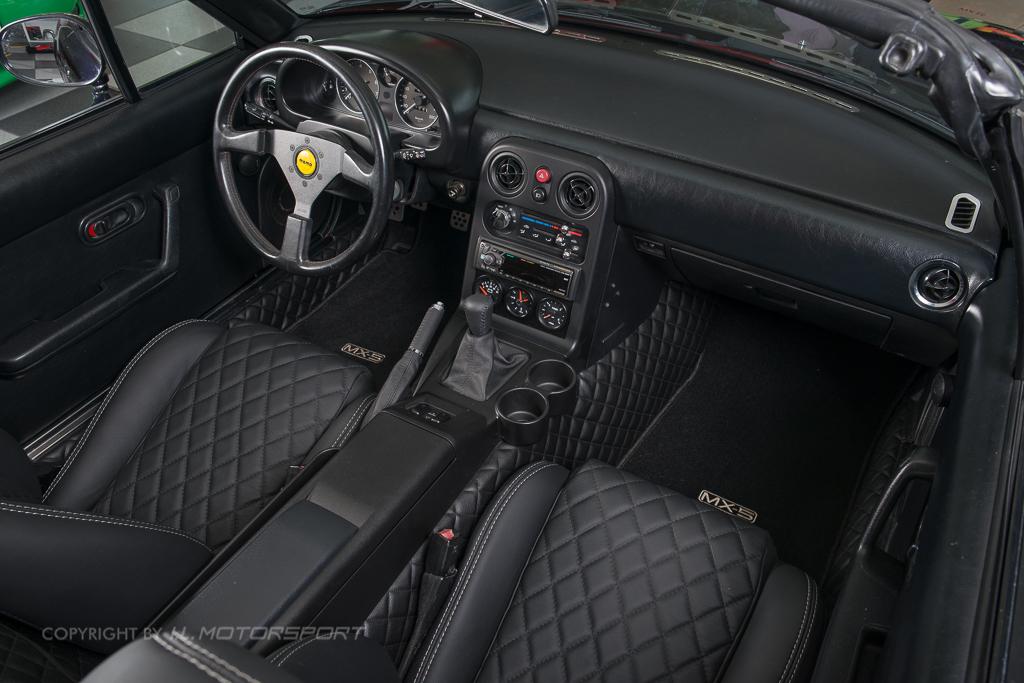Mx 5 Quilted Interior Trim Set