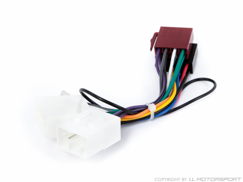 MX-5 Radio Adaptor Harness ISO
