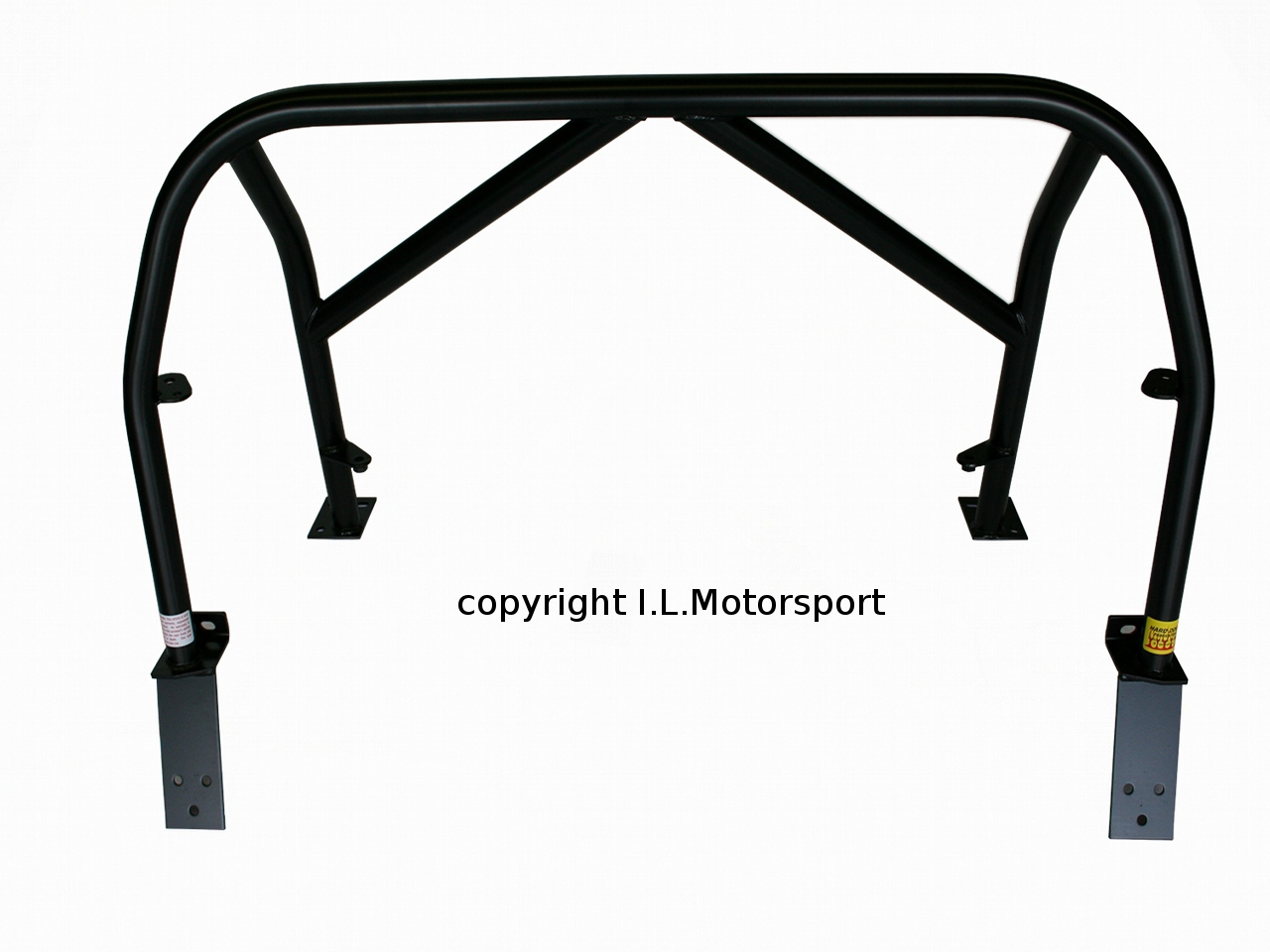 NAB-0228 - MX-5 Hard Dog M2 Sport Bar 9SD2H Double Diagonal With Harness Tabs - 3