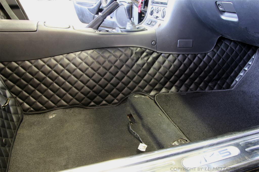 MX-5 Interieur Bekleding Ruitvorm Set