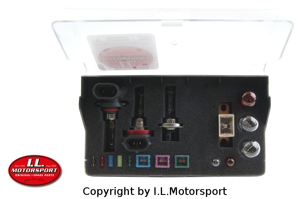 NC2-7051999 - MX-5 Replacement Bulb & Fuse Box with H7 & HB3