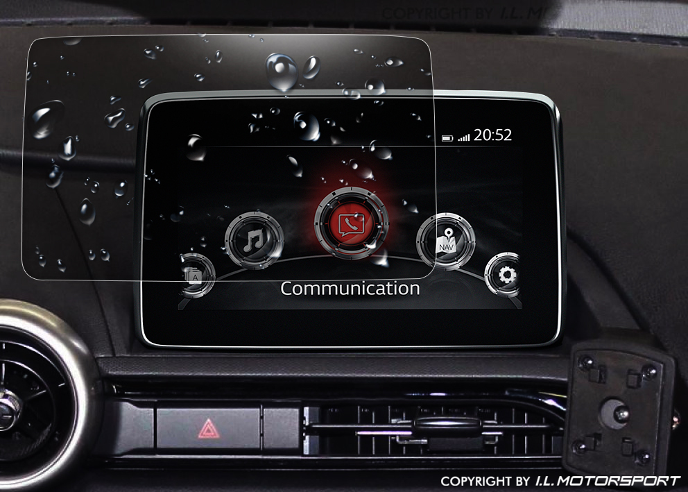 ND0-301256 - MX-5 Screenprotector Voor MZD Connect Infotainment - 8