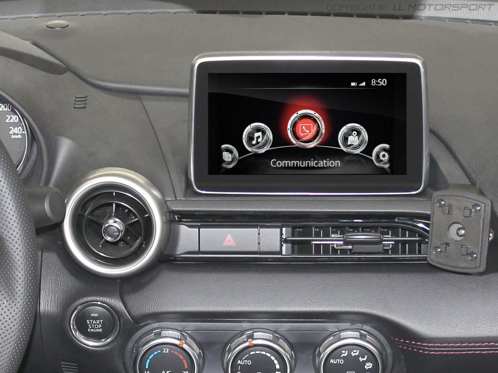 ND0-301256 - MX-5 Displayschutz für MZD Connect Infotainment-System - 9